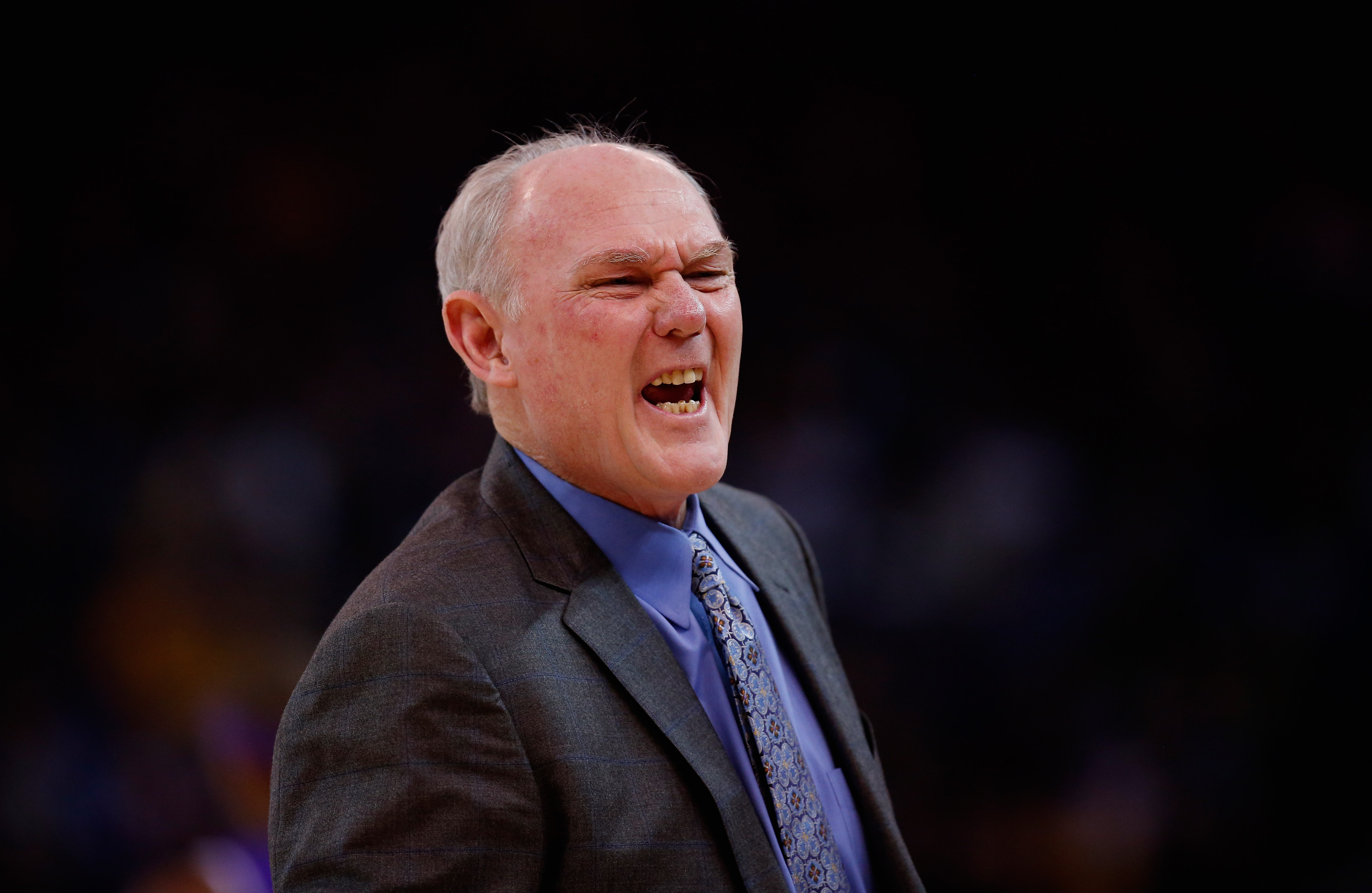 NBA coach George Karl