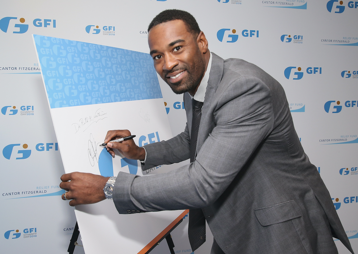 Former wide receiver Calvin Johnson