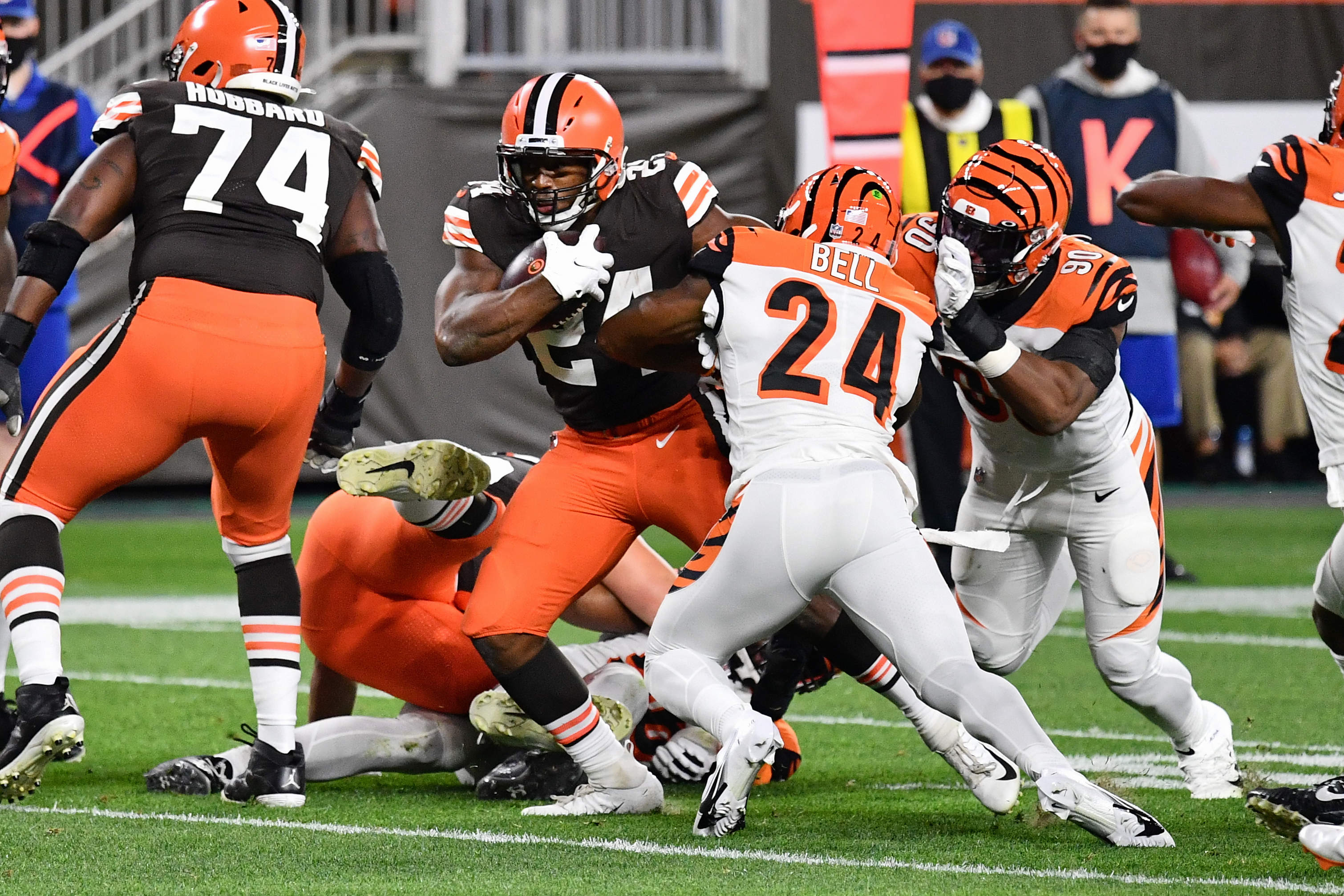 Nick Chubb is becoming an elite running back.