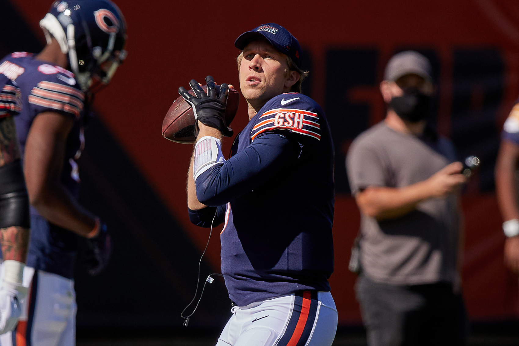 Nicks Foles is starting for the Chicago Bears in Week 4. However, the Bears are choosing to start him at the absolute worst possible time.