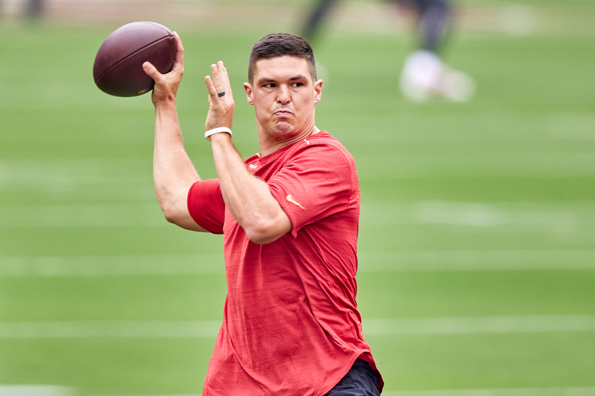 San Francisco 49ers quarterback Nick Mullens was unknown, to put it lightly, when he entered the league.
