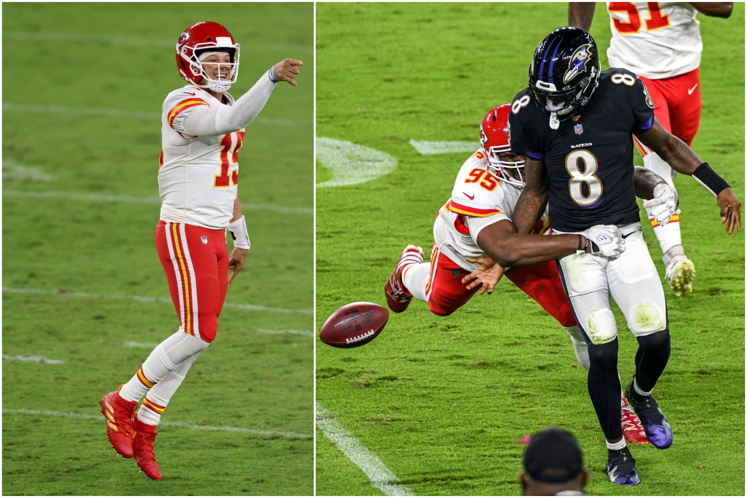 Patrick Mahomes just proved why Lamar Jackson isn't in his class as a quarterback with a monster performance on Monday Night Football.