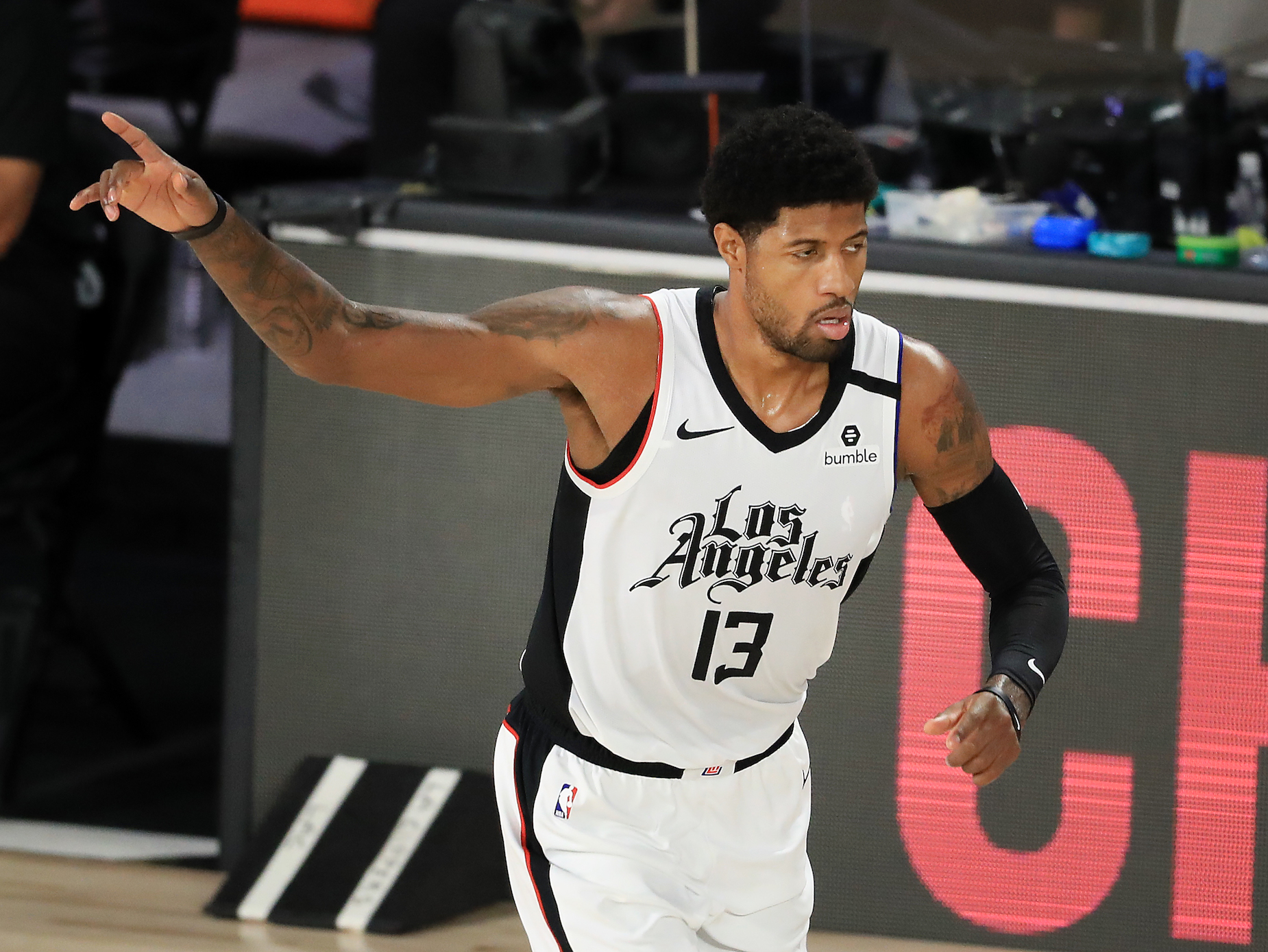 After the Los Angeles Clippers' elimination, Paul George believes that the team needs to simply spend more time together.