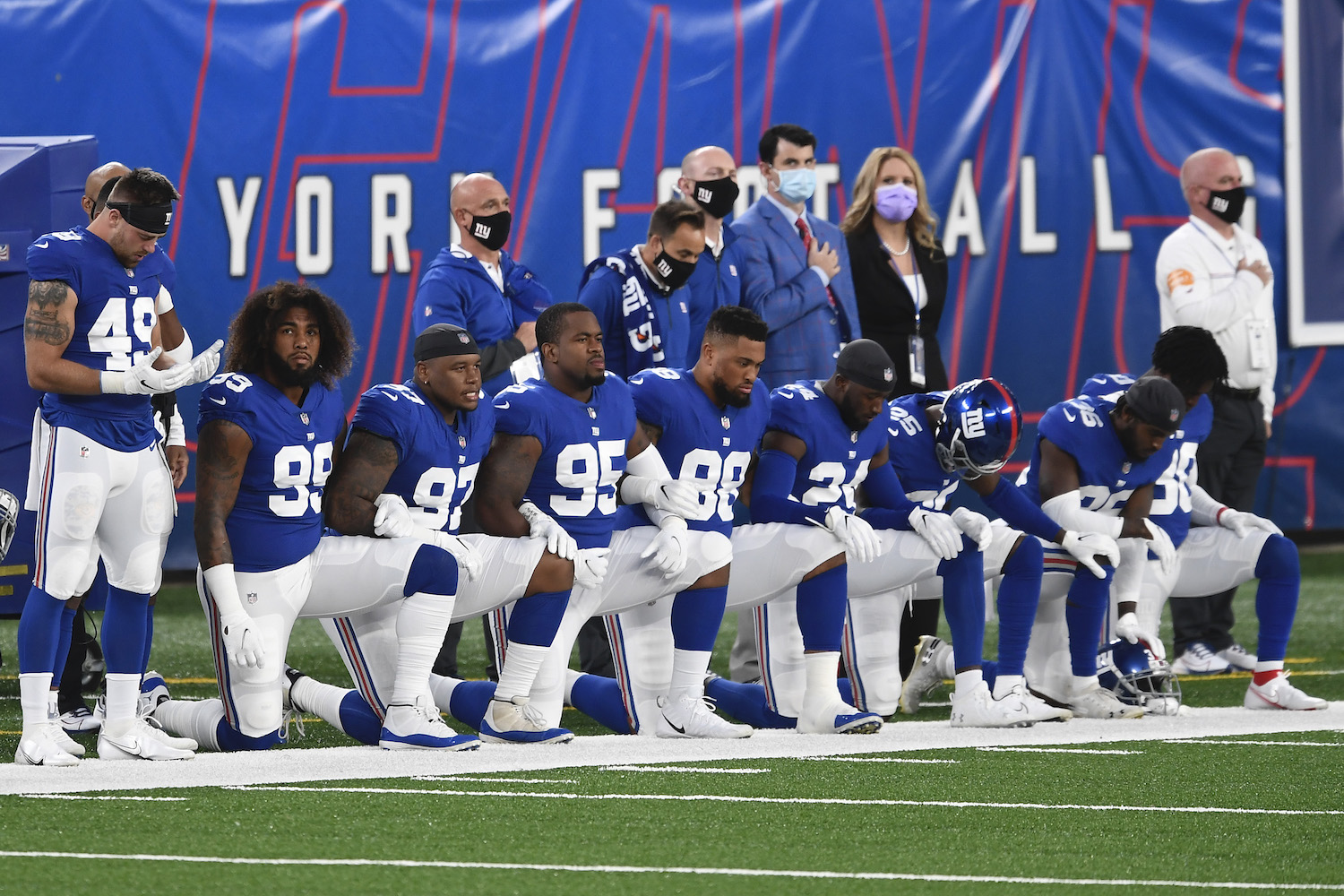 NFL ratings drop due to player protest