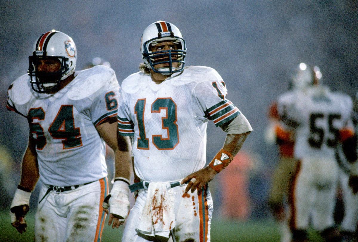 Dan Marino of the Miami Dolphins