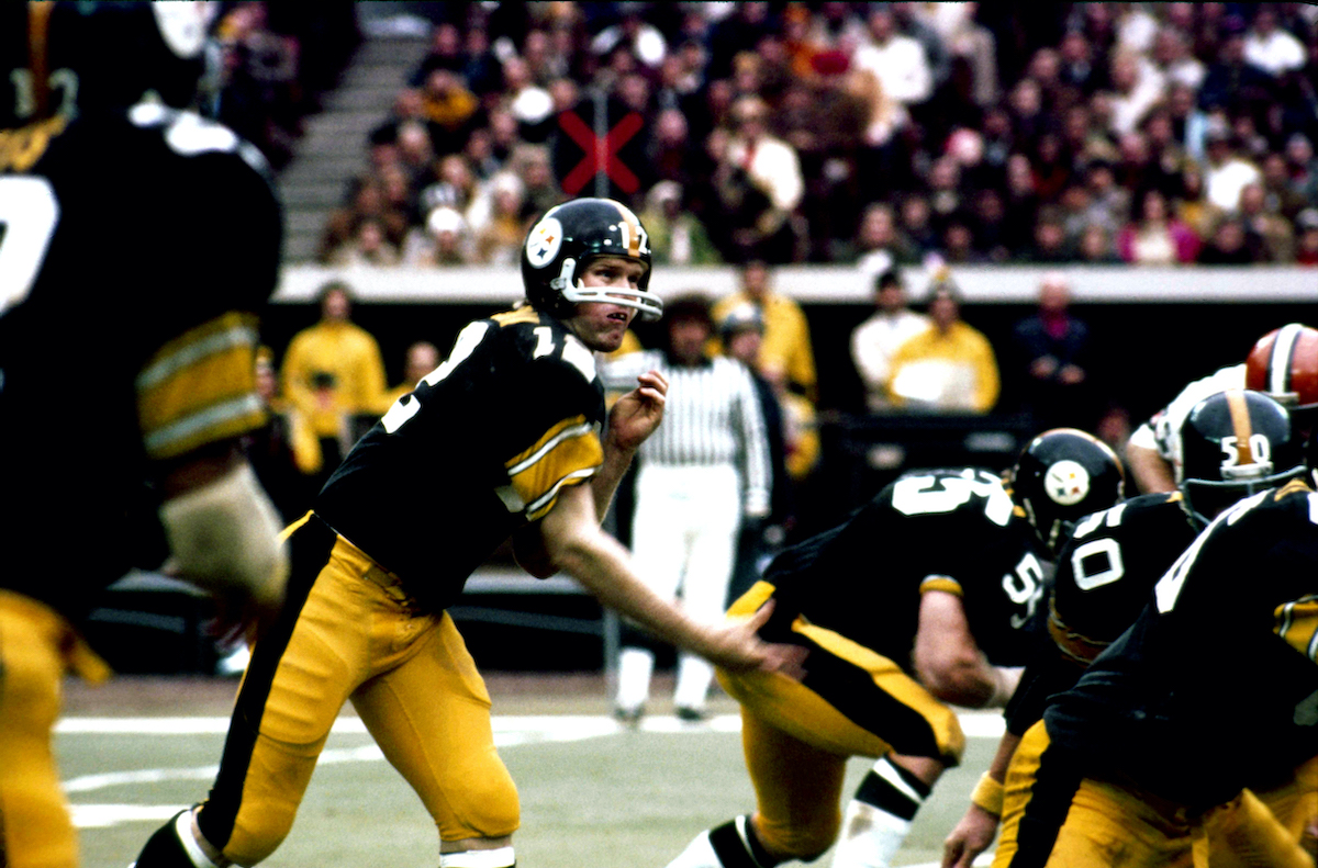 Steelers star Terry Bradshaw