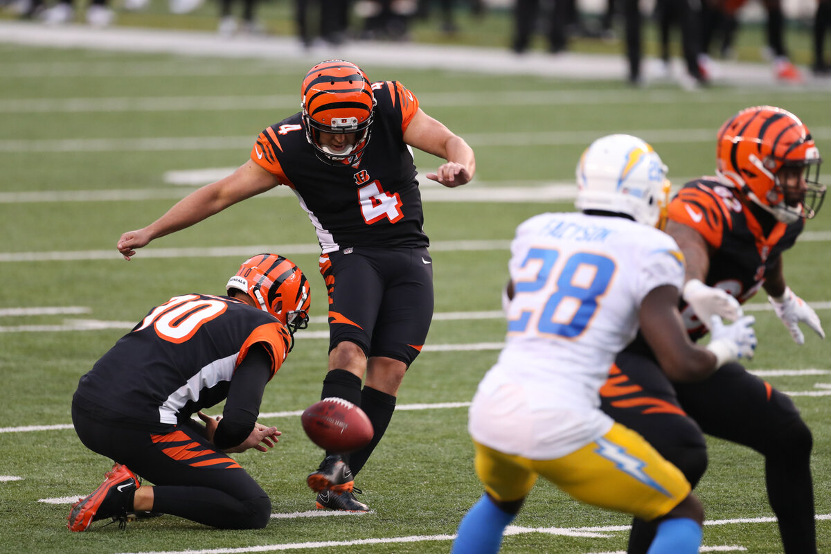 Cincinnati Bengals kicker Randy Bullock was one of several kickers who had a Week 1 to forget.