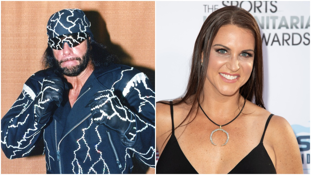 'Macho Man' Randy Savage Stephanie McMahon