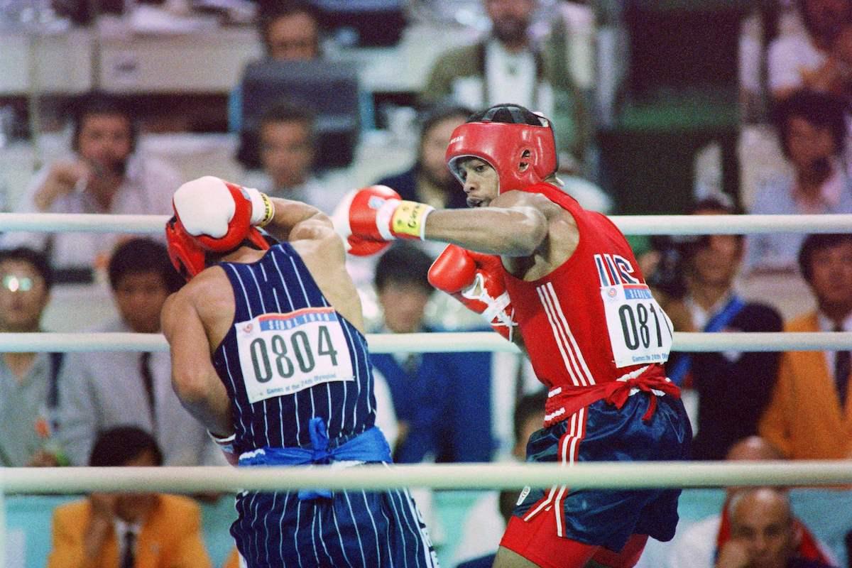 Boxer Roy Jones Jr.