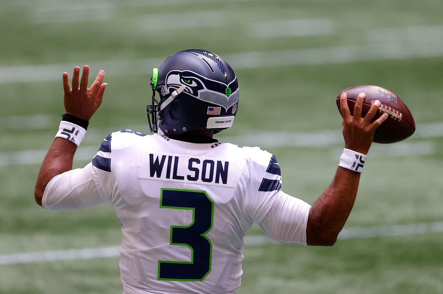 Russell Wilson Seahawks Breonna Taylor helmet