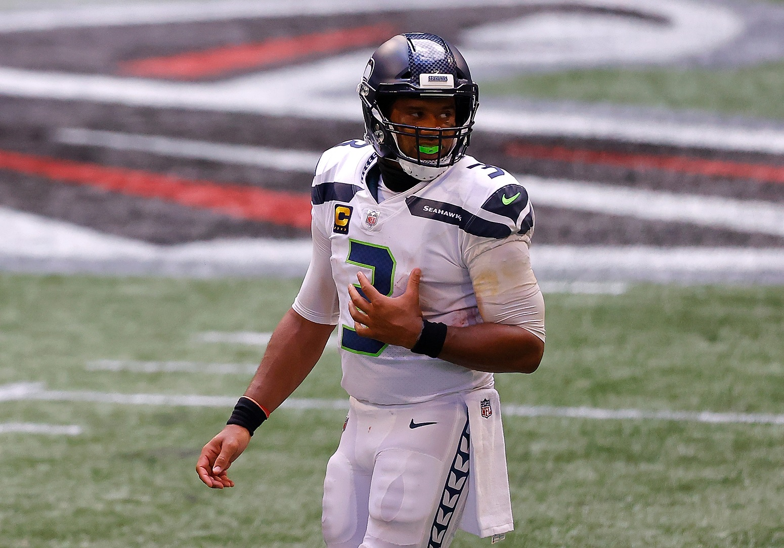 Russell Wilson Seahawks NFL record