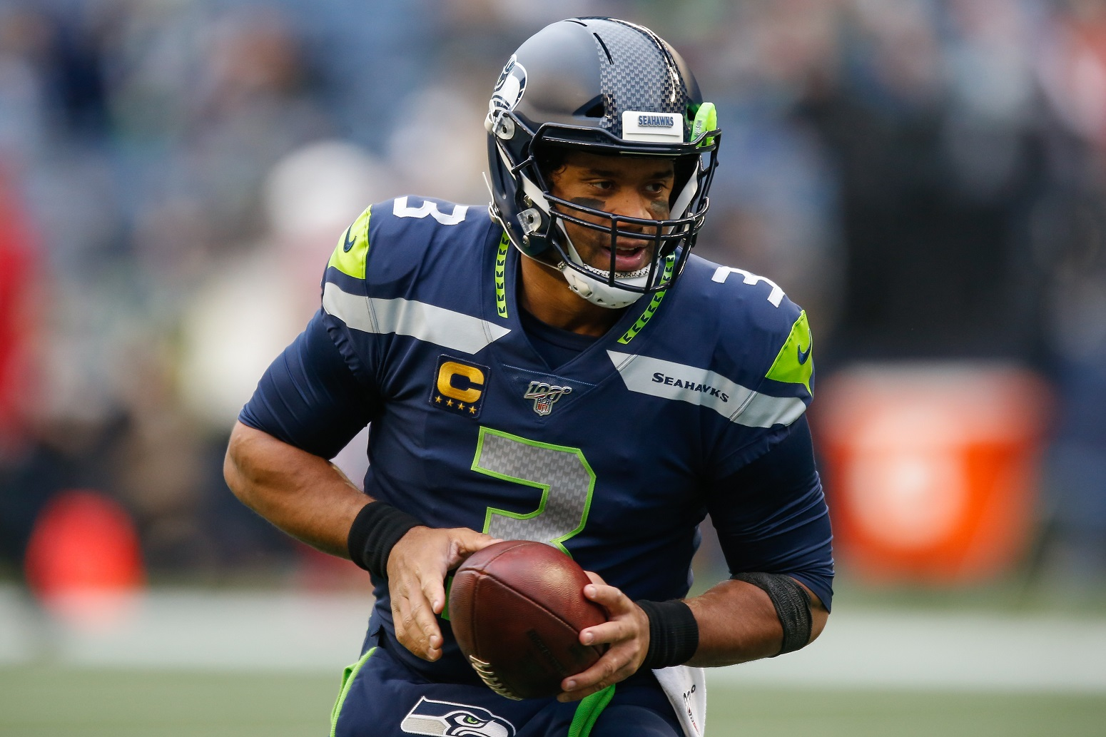 Russell Wilson Seahawks NFL scary message