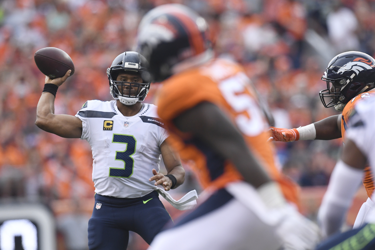 Russell Wilson has played in empty stadiums before.