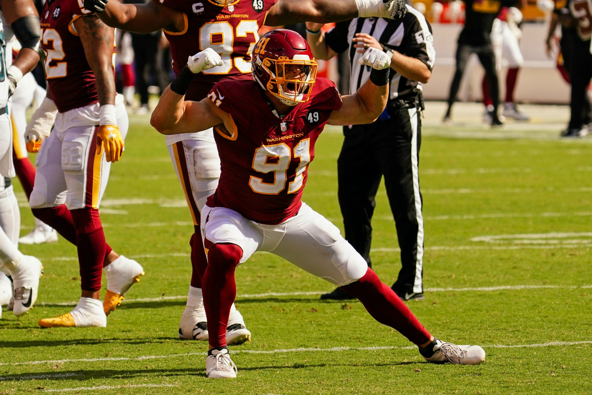 Ryan Kerrigan is one of the most underrated players in Washington Football Team history. Kerrigan just sealed his place in franchise lore.