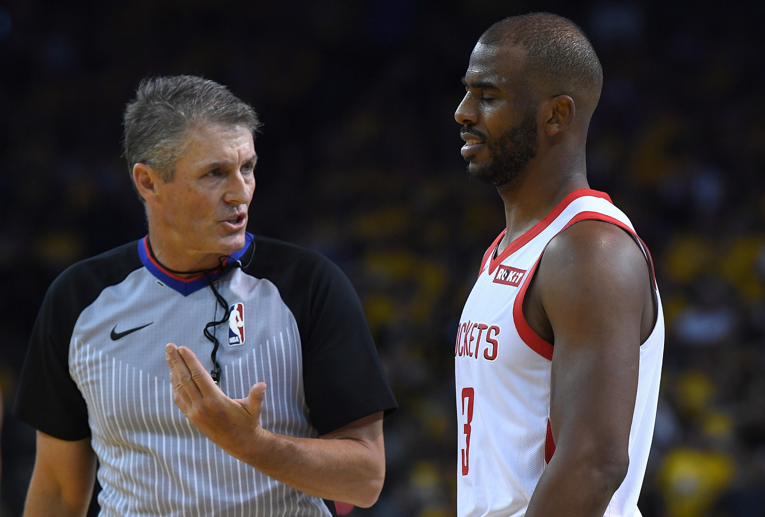 All eyes will be on referee Scott Foster for Game 7 between the Houston Rockets and the Oklahoma City Thunder.