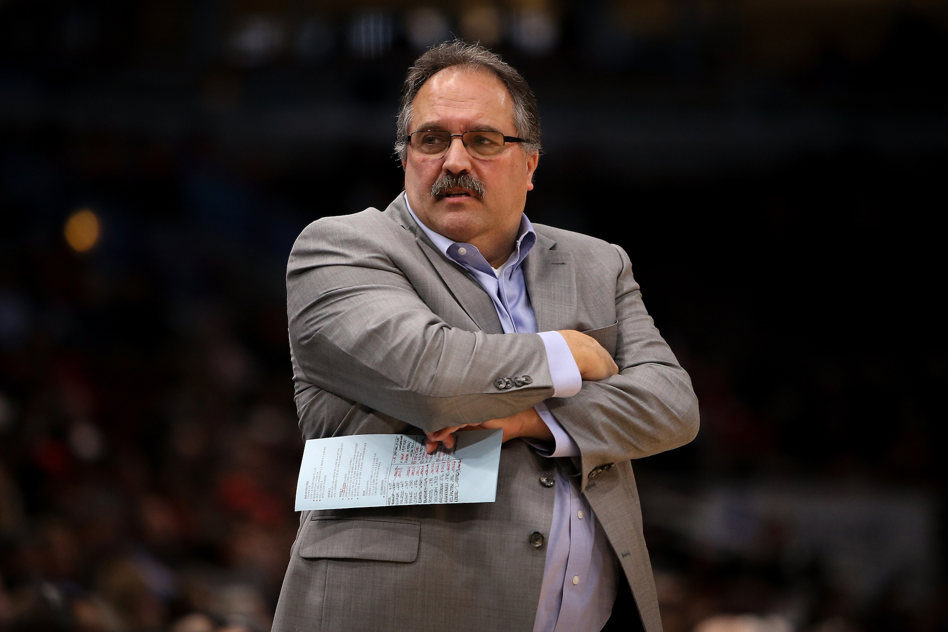 Stan Van Gundy has no problem calling out Donald Trump on Twitter.