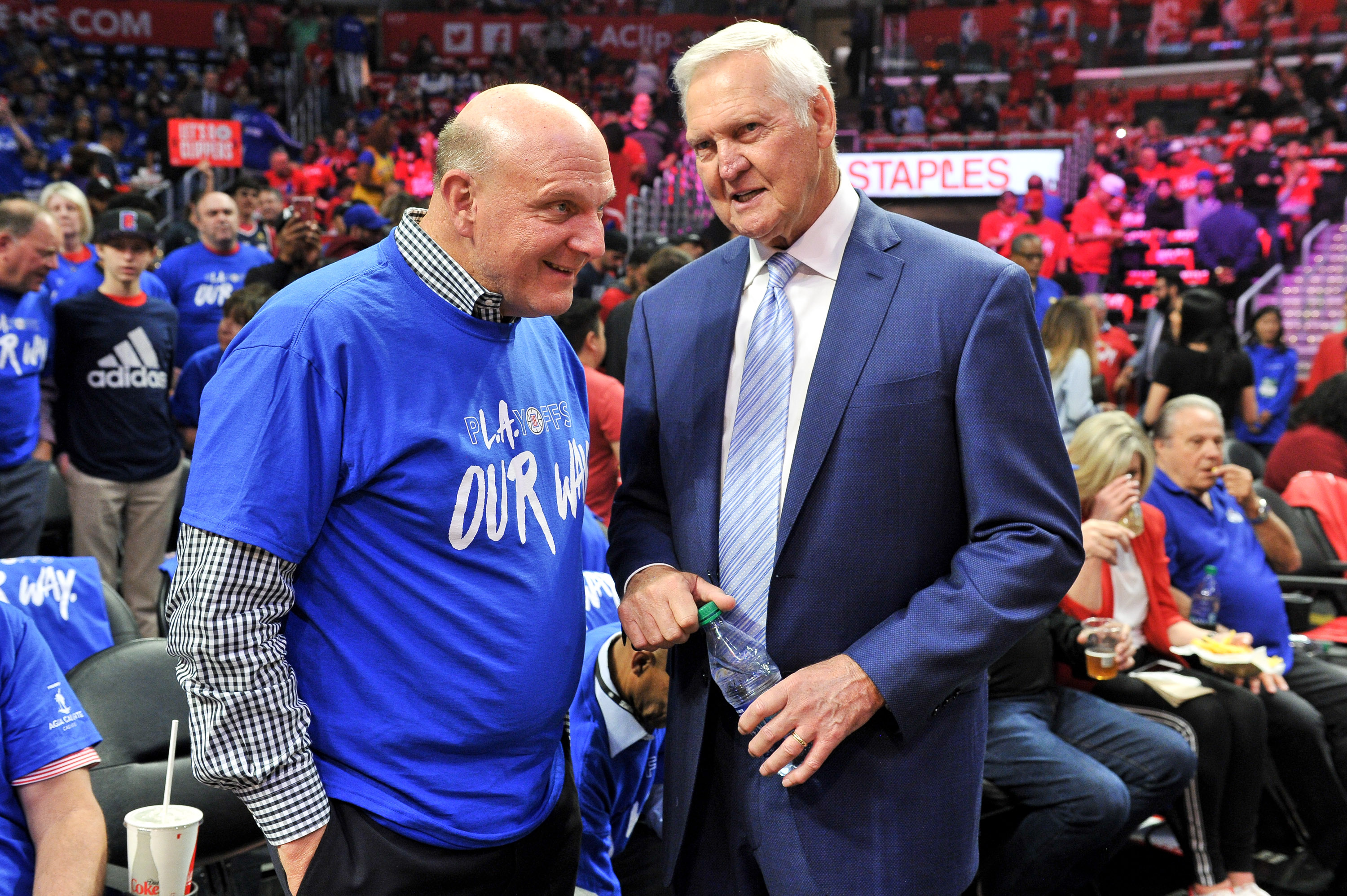 LA Clippers owner Steve Ballmer