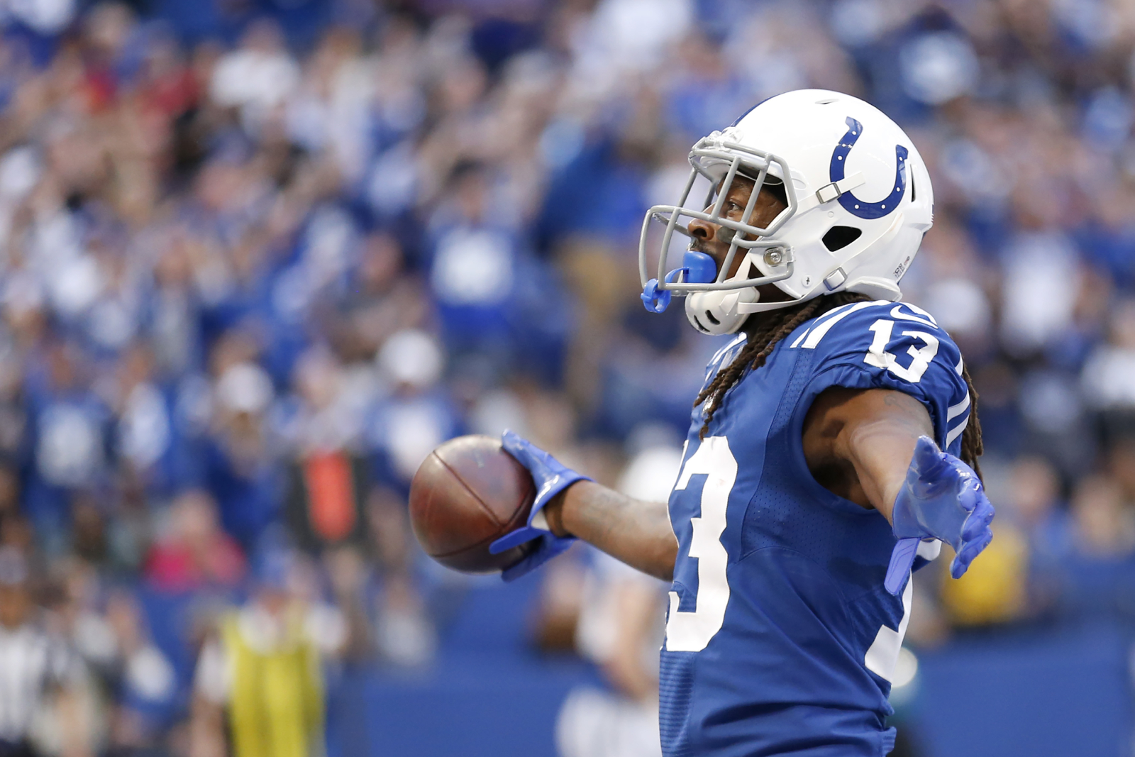 T.Y. Hilton has been a very underrated receiver for the Indianapolis Colts. Recently, he sent a terrifying message to the rest of the NFL.