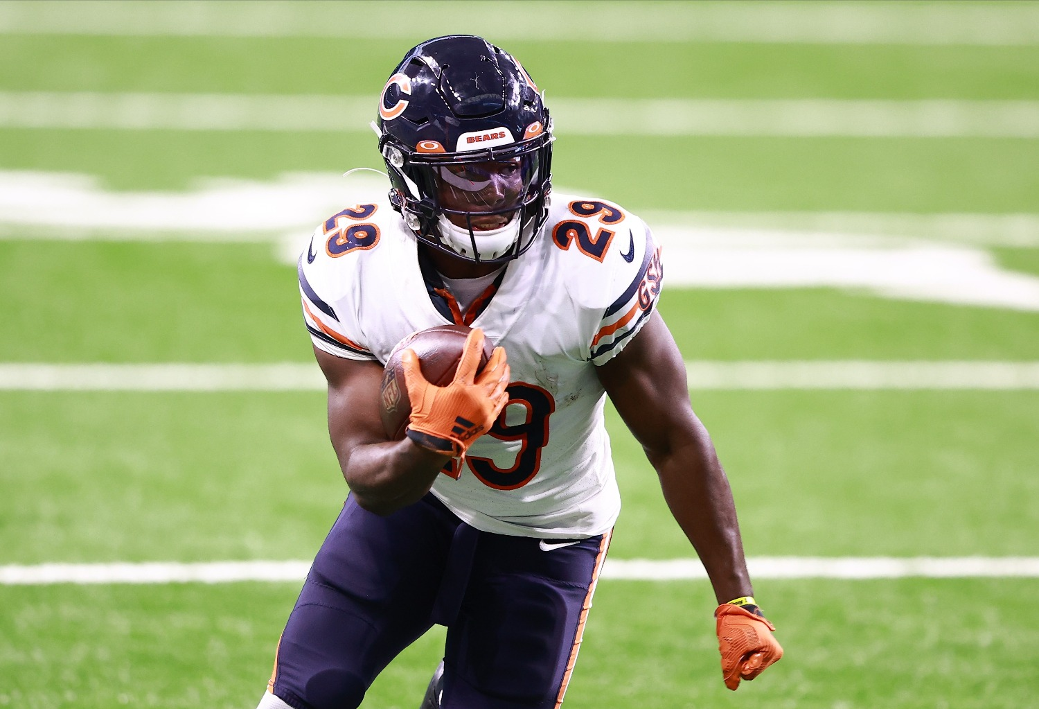 The Chicago Bears lost Tarik Cohen to a season-ending knee injury