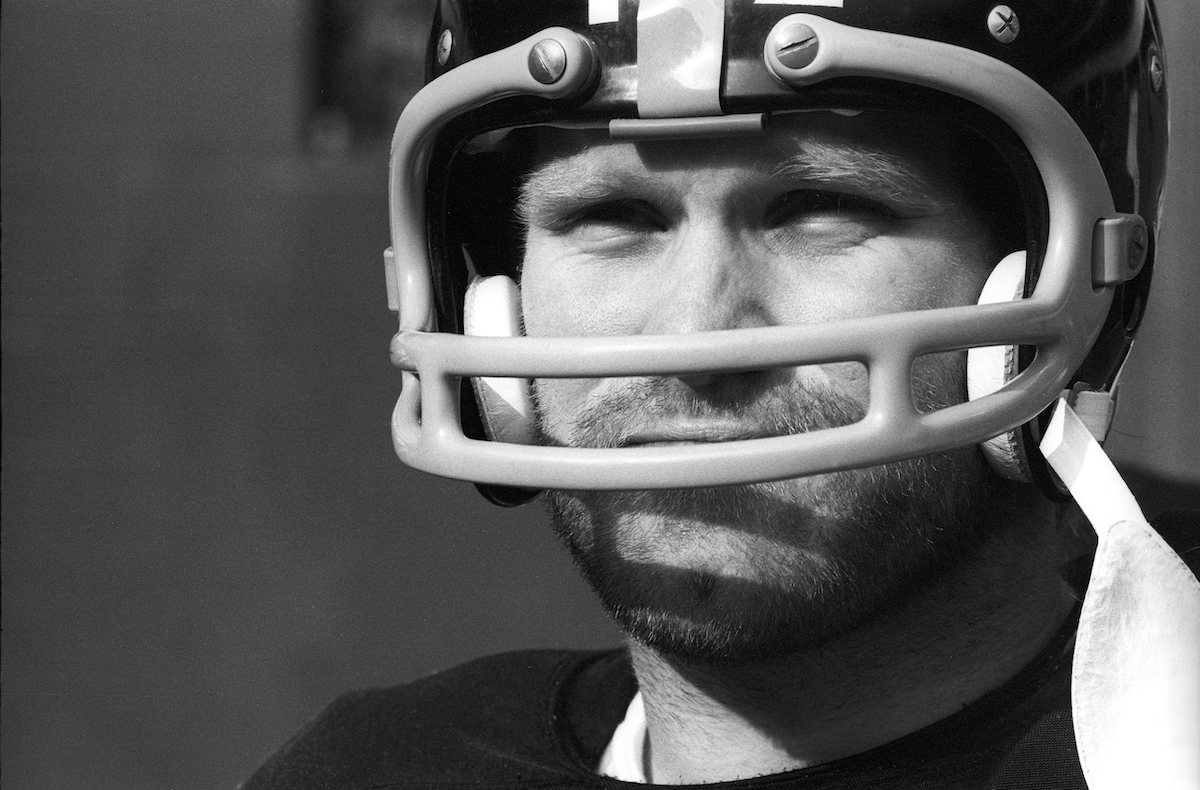 Quarterback Terry Bradshaw Pittsburgh Steelers