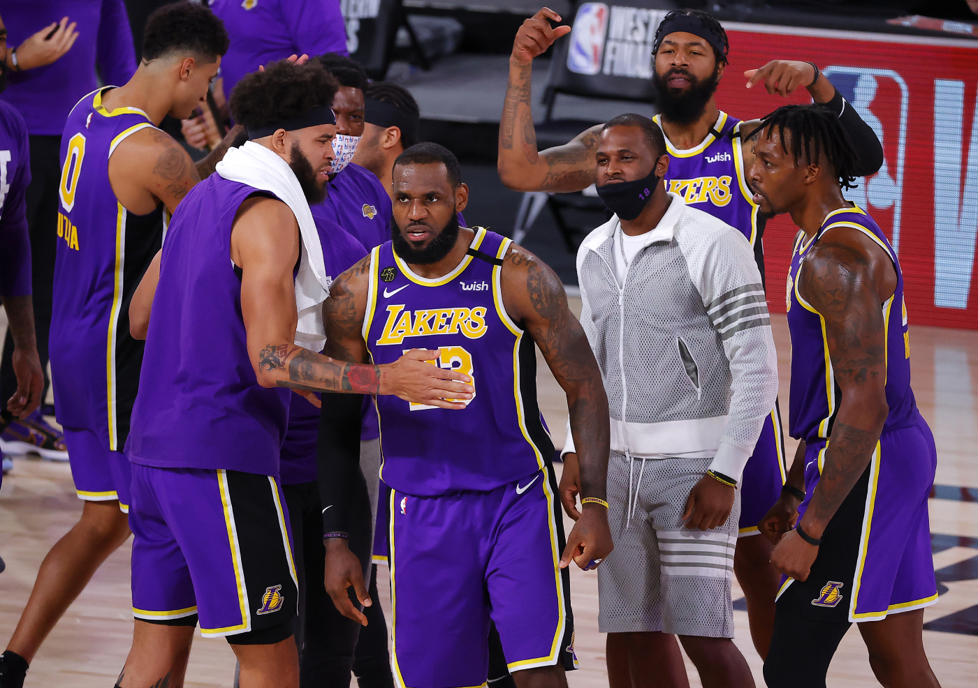 LeBron James and the Lakers just clinched their spot in the NBA Finals. However, Shaquille O'Neal just revealed the team they want to face.