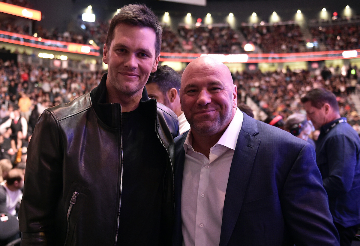 UFC 246: Tom Brady and Dana White