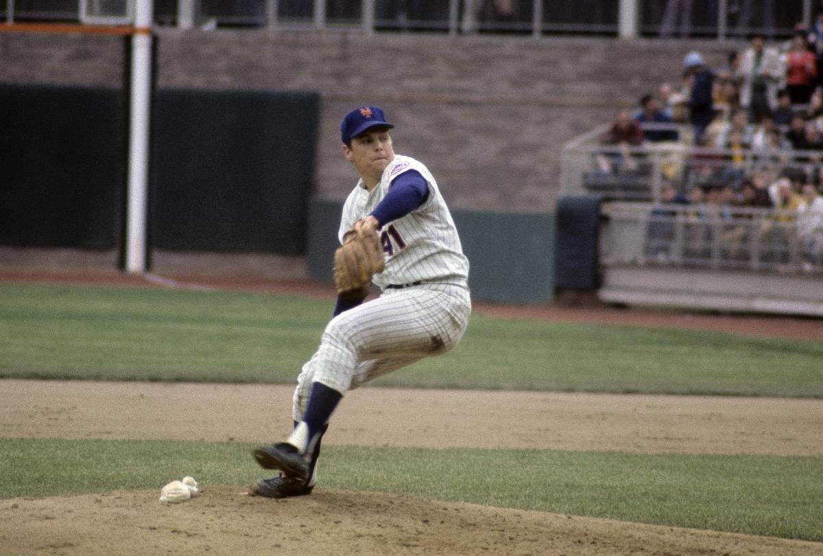 Longtime New York Mets ace Tom Seaver nearly pitched for the Atlanta Braves.