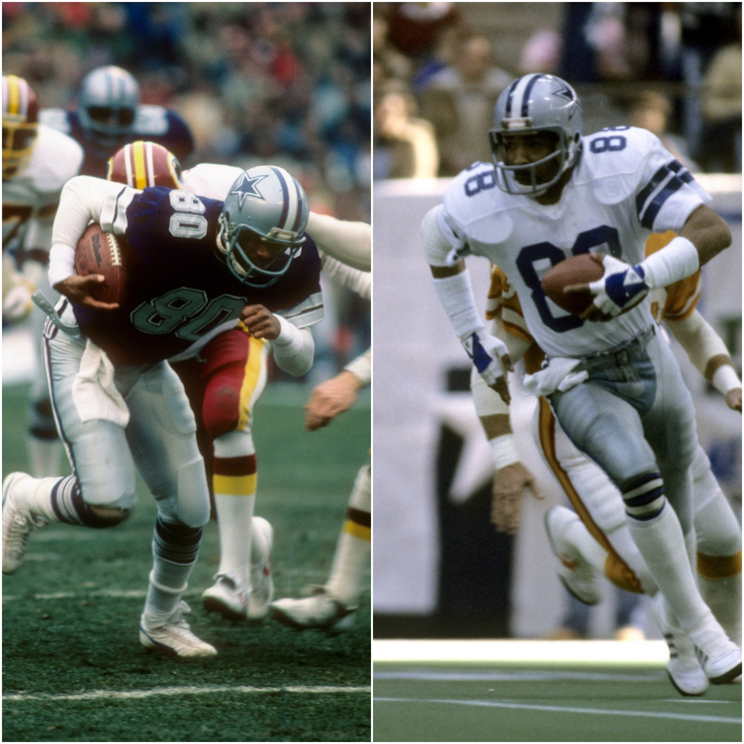 Tony Hill and Drew Pearson