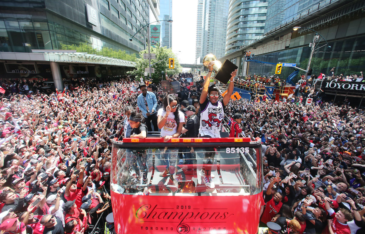 Toronto Victory Parade in 2019