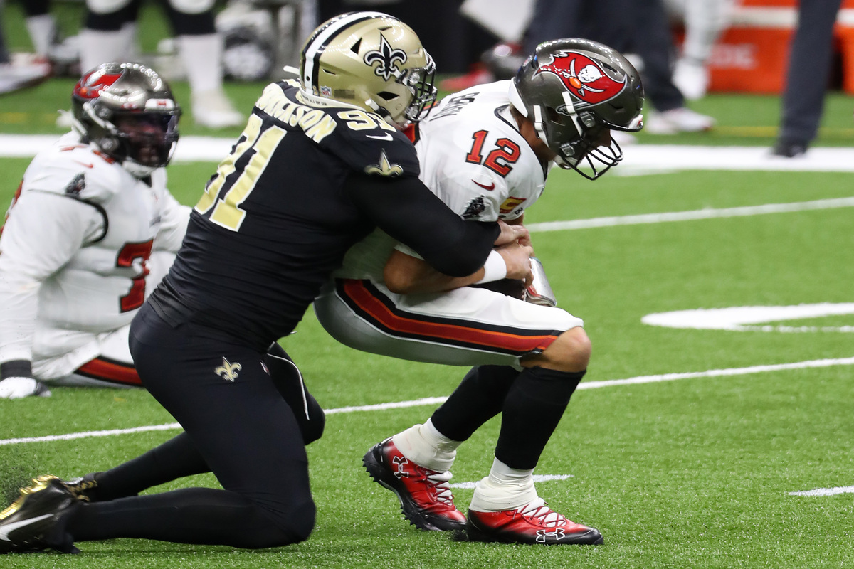 New Orleans Saints defensive end Trey Hendrickson is poised for a huge 2020 season.