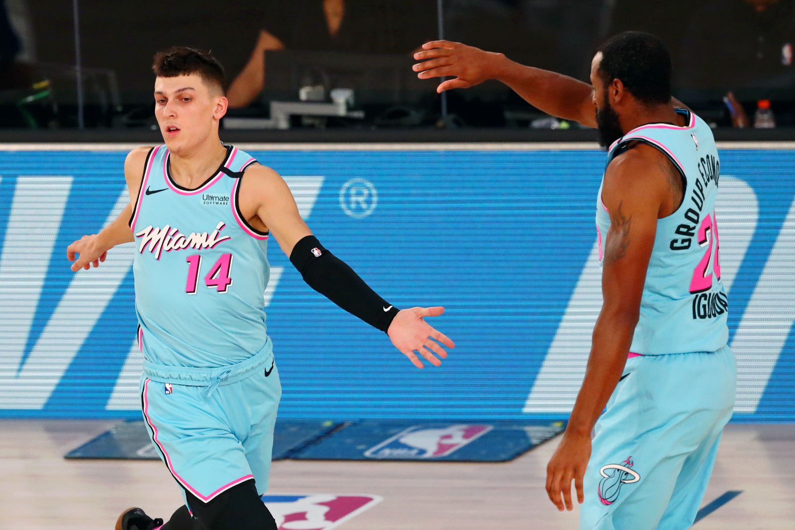 Miami Heat rookie Tyler Herro was a star in college for the Kentucky Wildcats. Before that, though, he received death threats in high school.