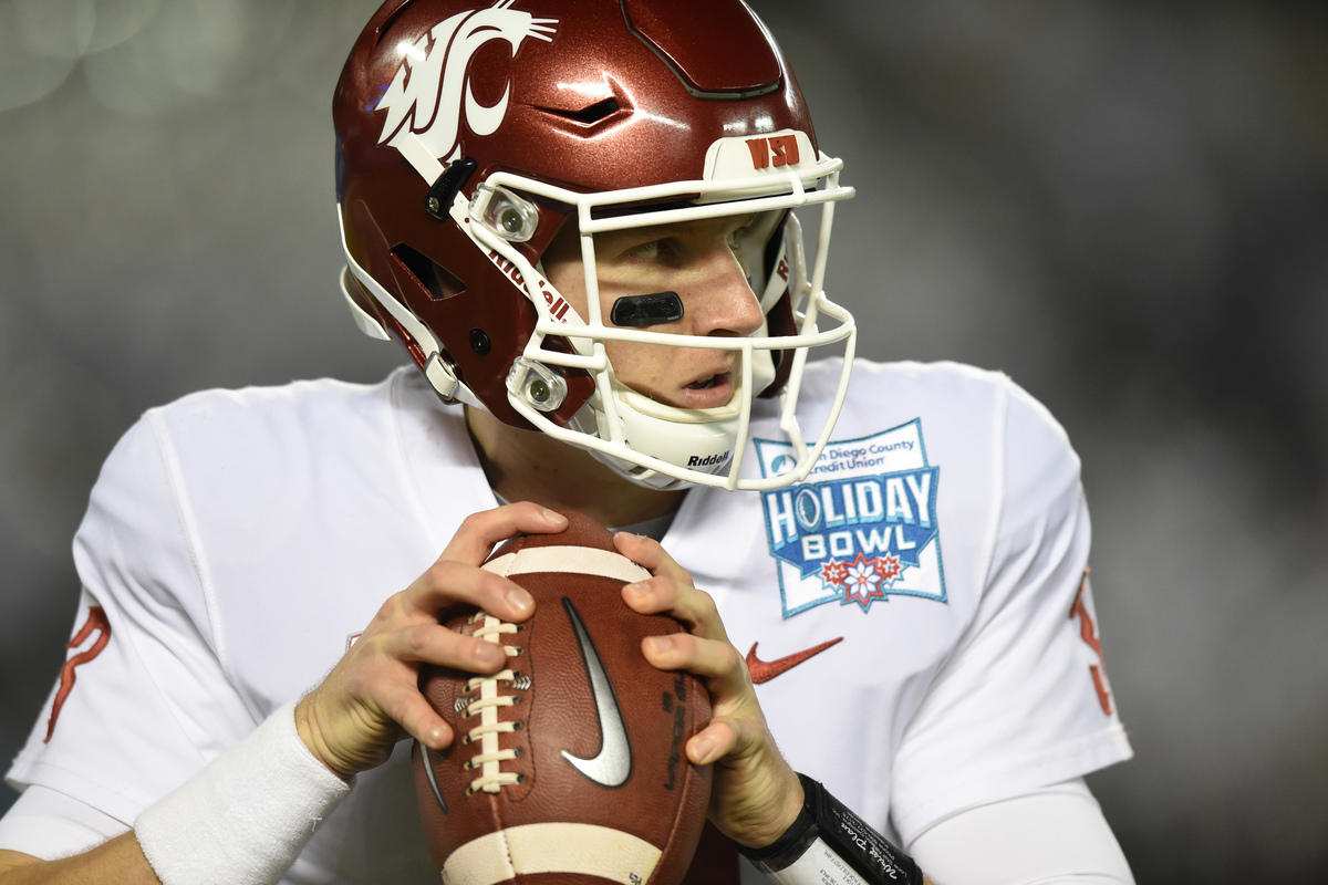 Former Washington State quarterback Tyler Hilinski tragically died in January 2018.