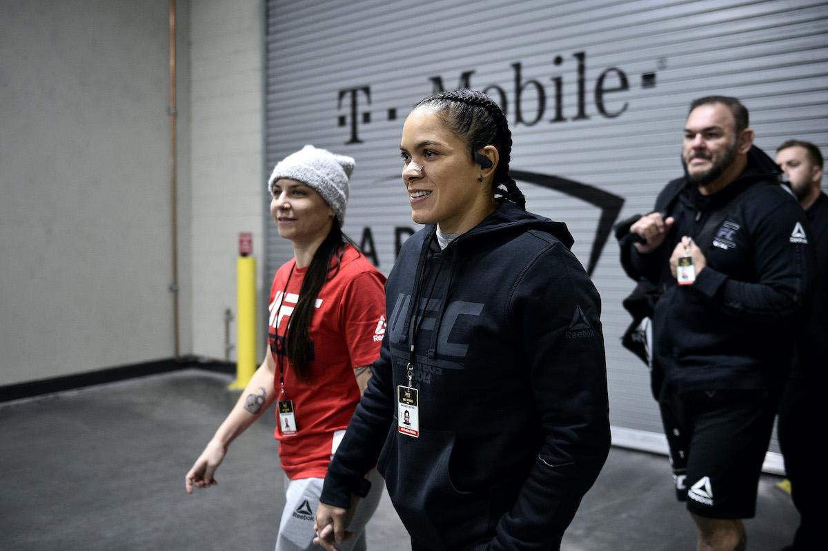 UFC 245: Amanda Nunes and Nina Ansaroff