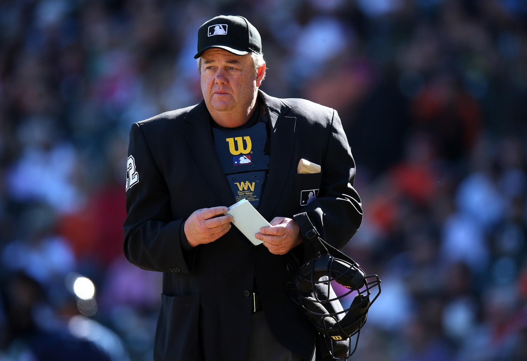 Umpire Joe West