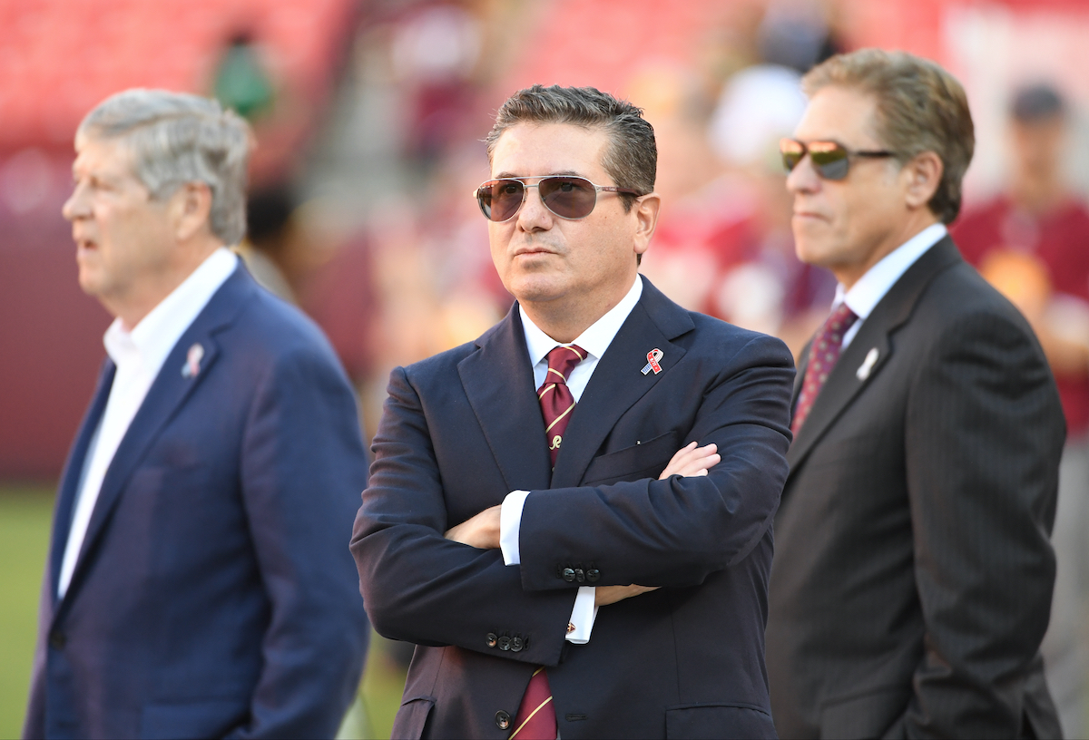 Owner Dan Snyder of the Washington Football Team