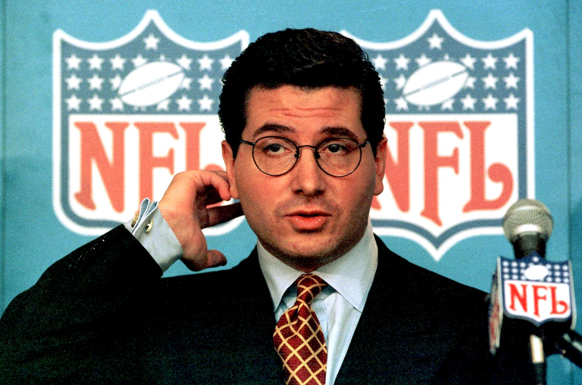 Team owner Dan Snyder