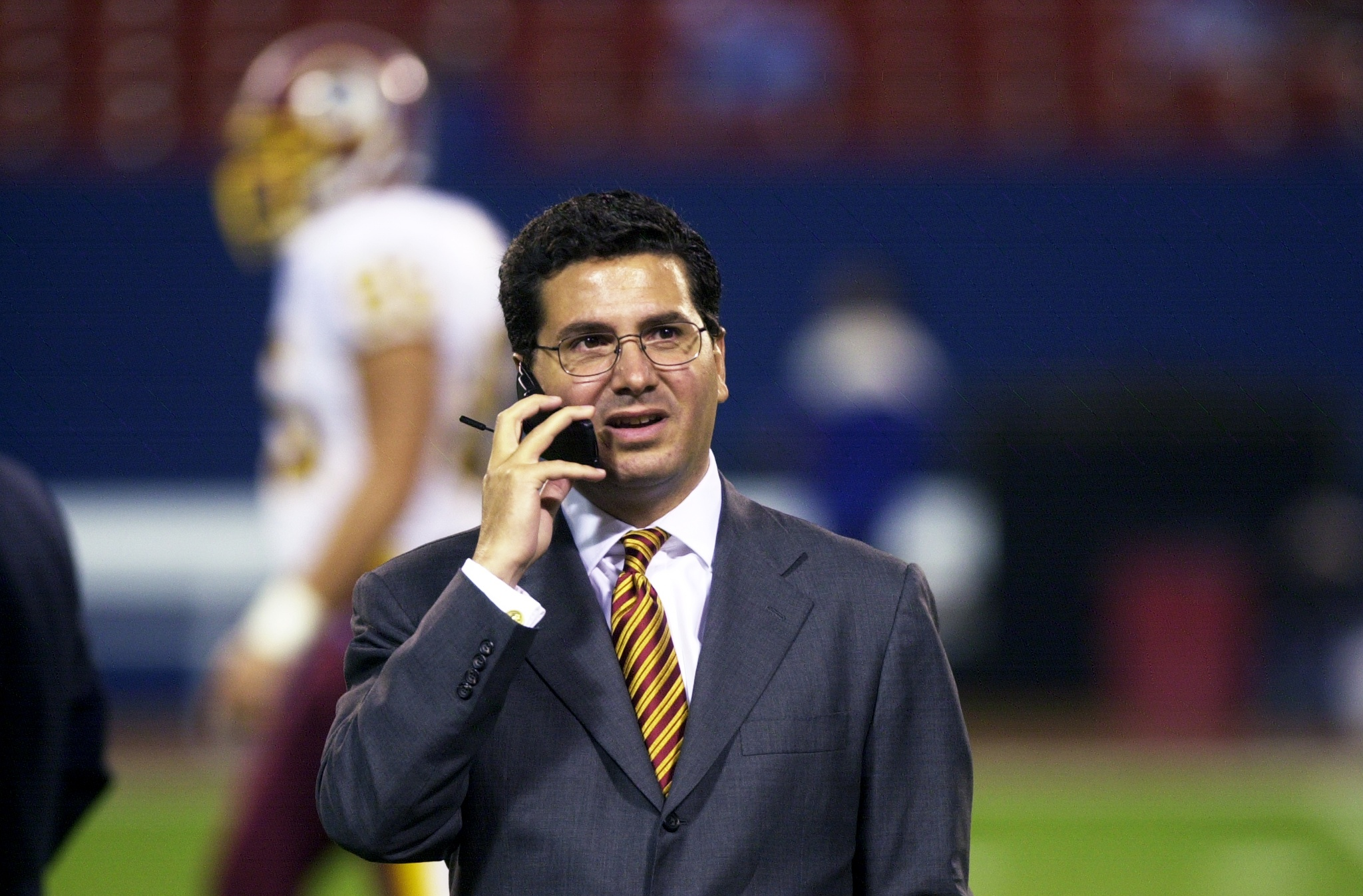 Team owner Daniel Snyder