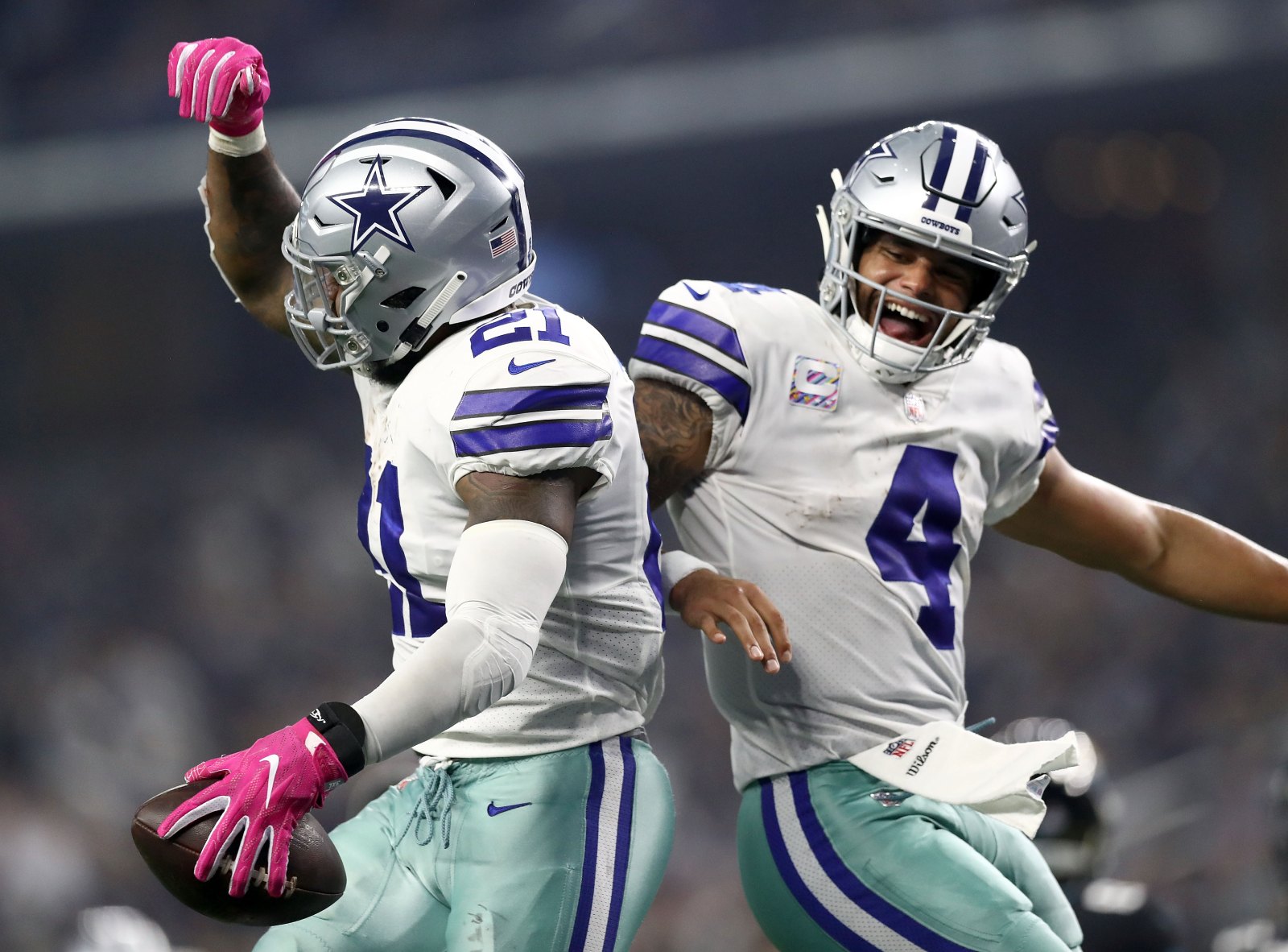 Dak Prescott and Ezekiel Elliott are two of the best players in the NFL for the Dallas Cowboys. Are they friends off the field?