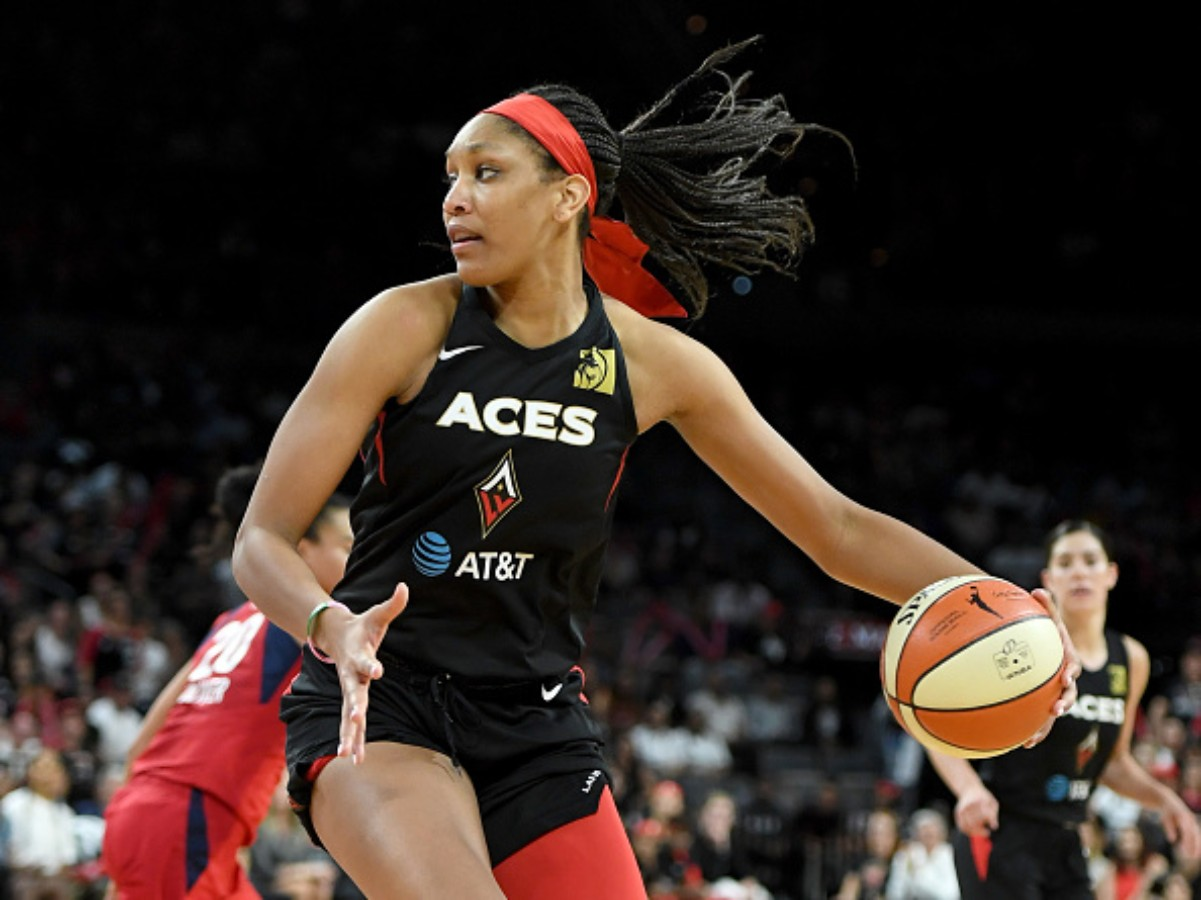 A'ja Wilson was named the 2020 WNBA MVP