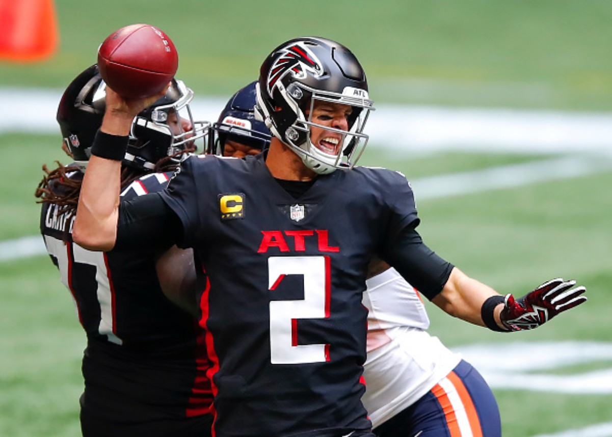 The Atlanta Falcons Just Made NFL History After Their Disappointing Loss to the Chicago Bears