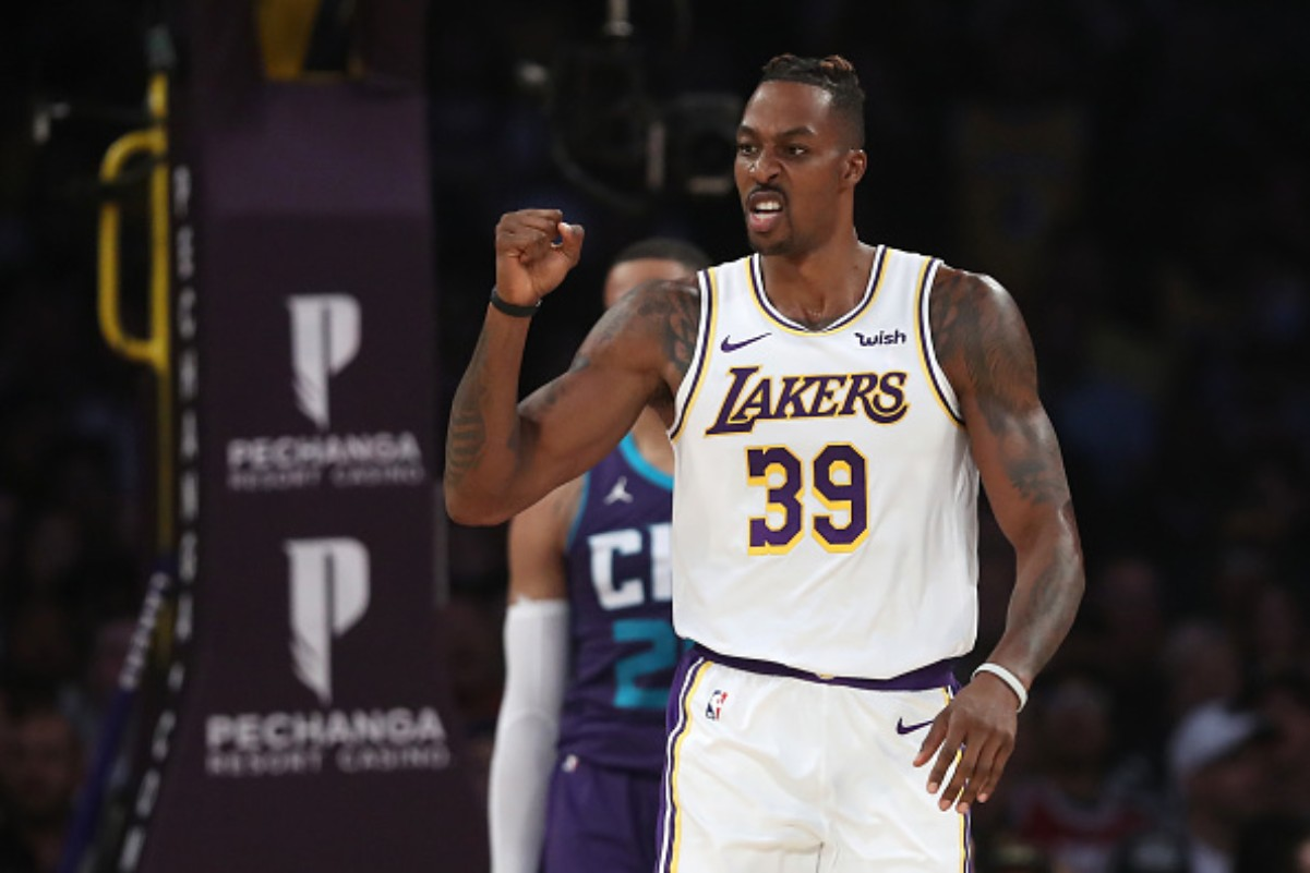 Dwight Howard Channeled His Inner Kobe Bryant During a Postgame Interview