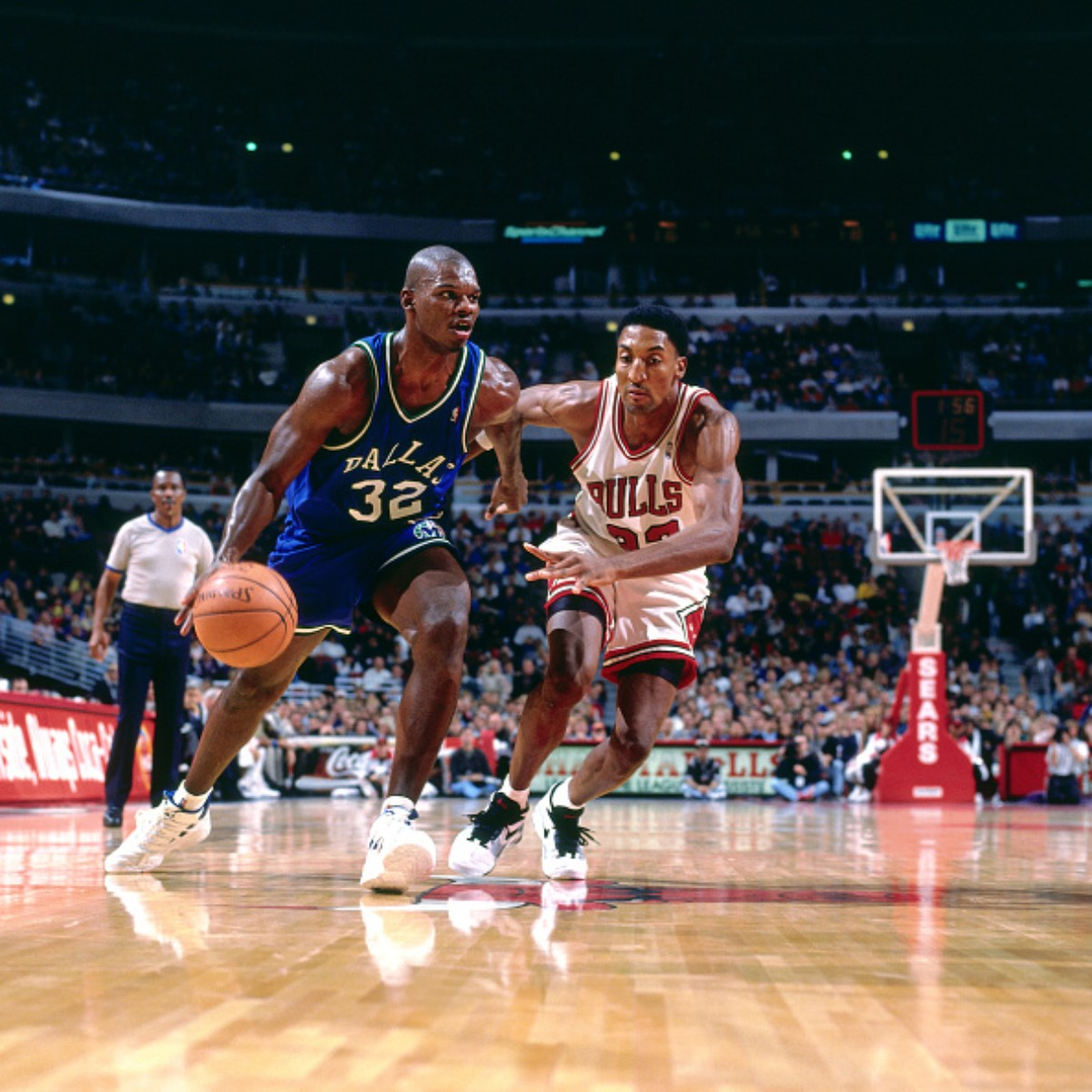 Jamal Mashburn spent 12 seasons in the NBA playing for four different teams