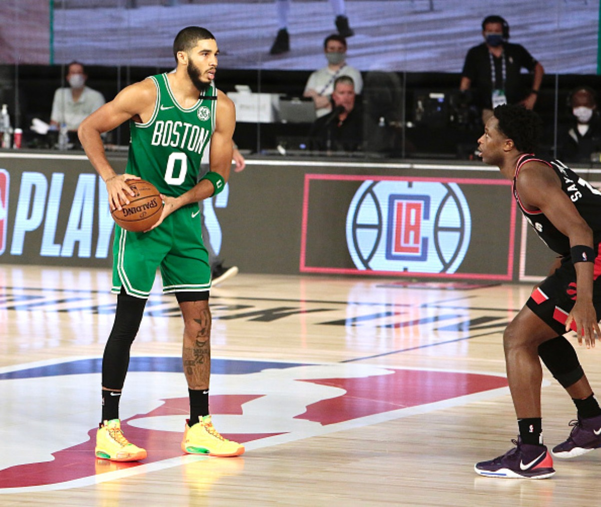Jayson Tatum has been the Celtics top player in the playoffs