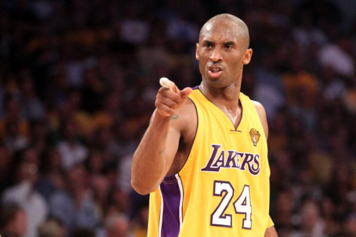 Kobe Bryant would practice without a basketball during his career