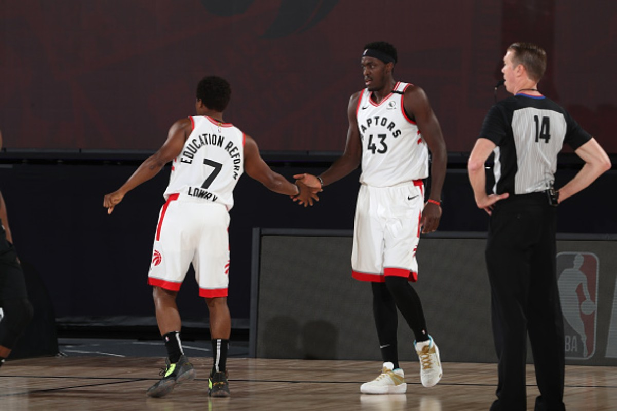 Kyle Lowry wants Pascal Siakam to be motivated after his performance in the playoffs