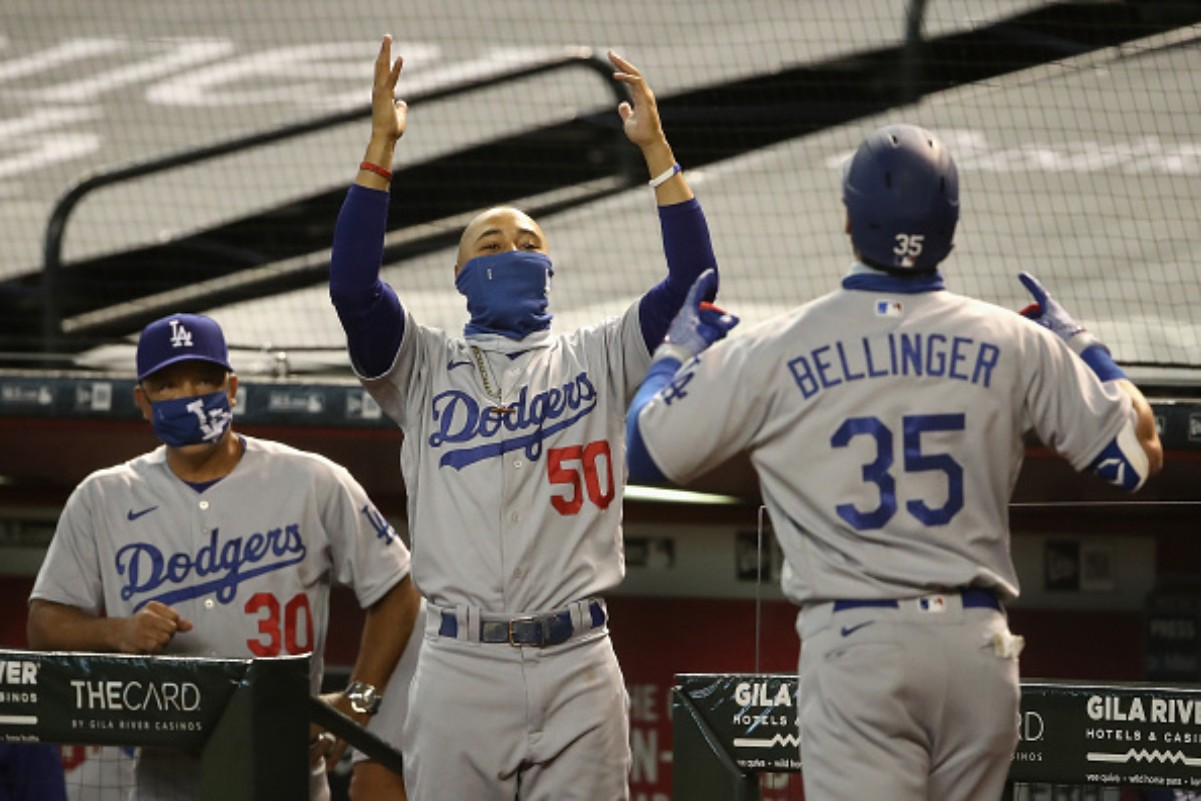The LA Dodgers clinched their eighth consecutive NL West title
