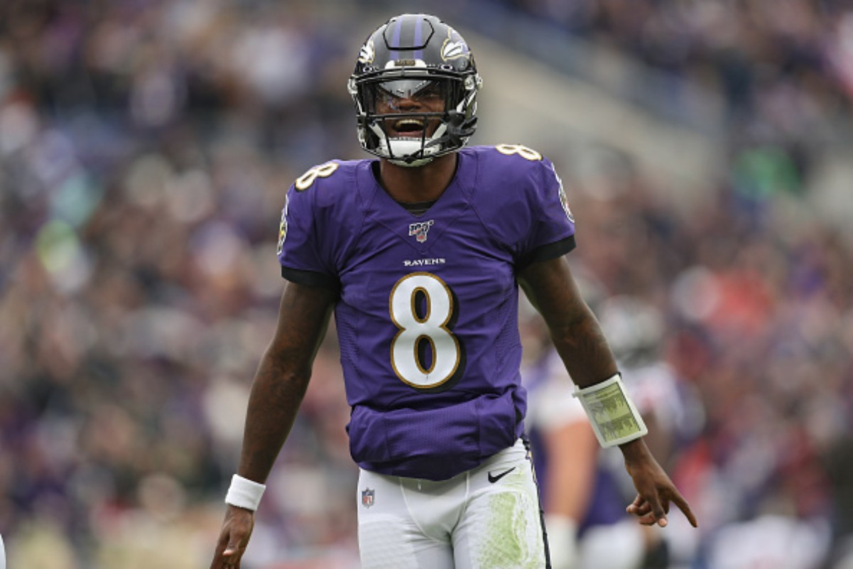 Lamar Jackson was a part of the 10 Black quarterbacks that started in Week 1