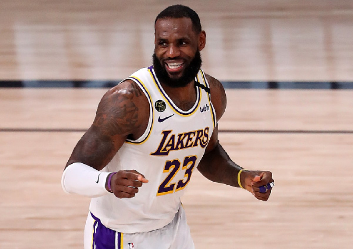 LeBron James will make his first finals appearance with the Lakers