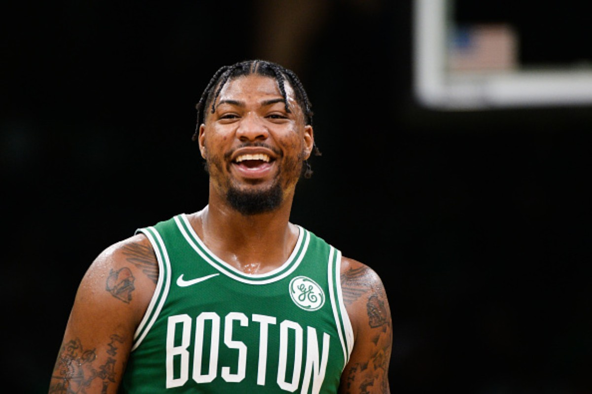 Marcus Smart has become an important piece on the Boston Celtics team