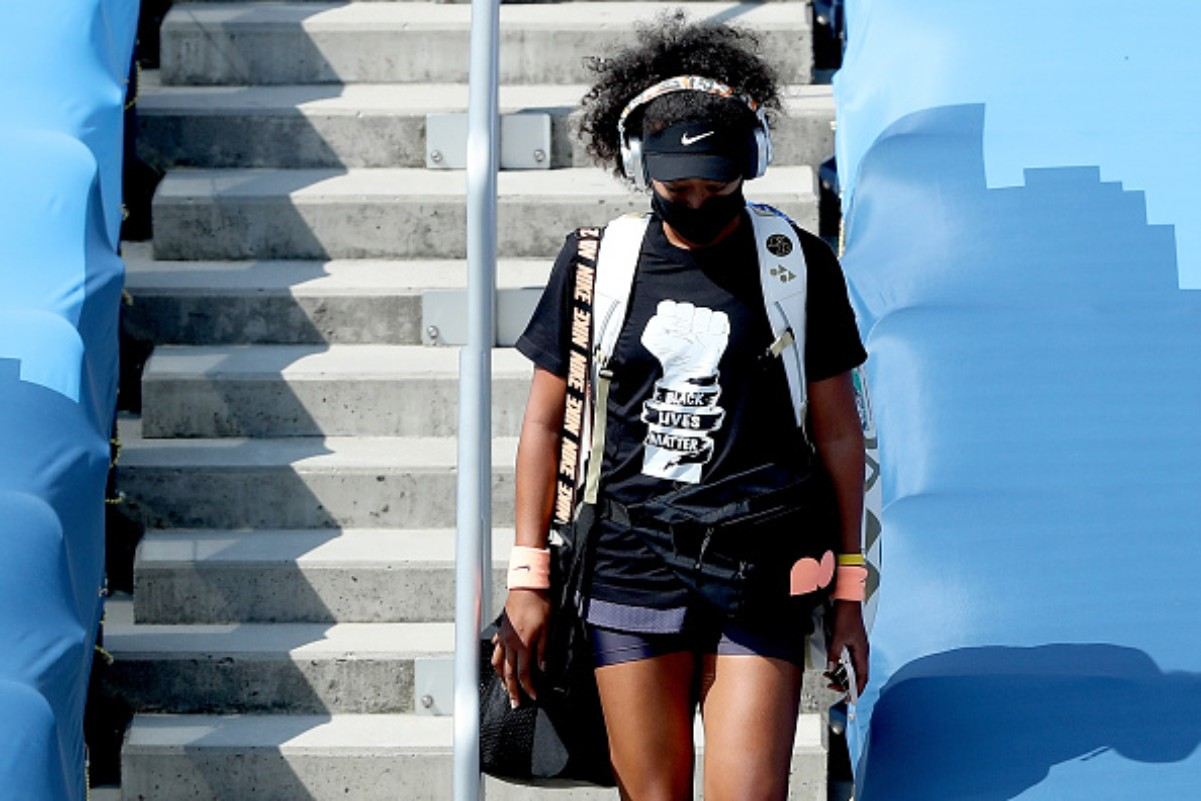 Naomi Osaka has advocated for the victims of police brutality.